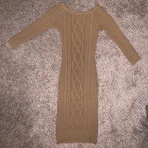 Dresses & Skirts - Camel sweater dress